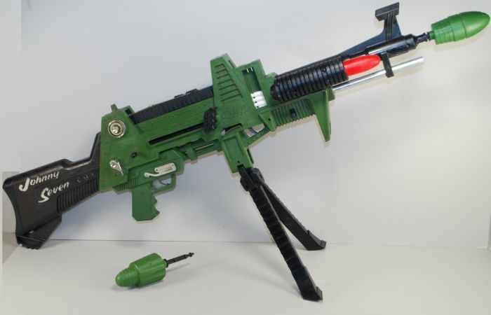Aged 10 - had one of these and used it to shoot my new talking Action Man out of the tree in the garden. He never talked again!