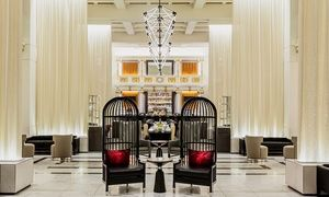 Groupon - Stay at Boston Park Plaza Hotel, with Dates into September in Boston. Groupon deal price: $134.25