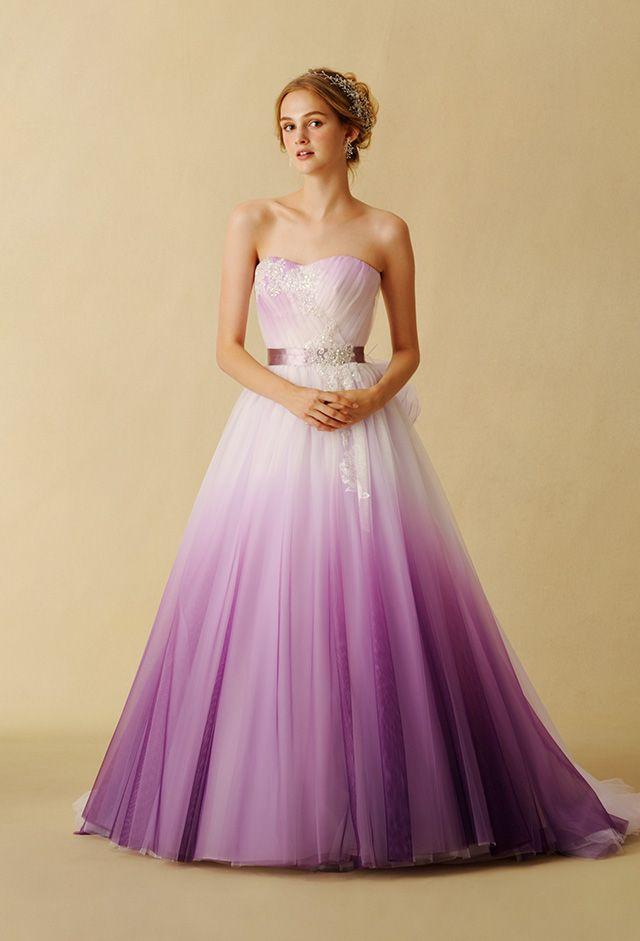 Purple Wedding Dress ~