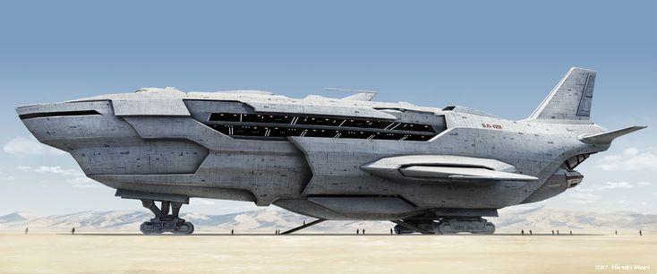 Sci-Fi Spaceship, Hiroki Mori