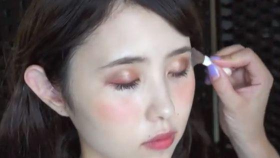 おフェロ顔の決め手♥クリームチークの塗り方 | みんなのメイク(メイク動画の投稿サイト)