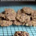 2 ingredient cookies – plus the mix-ins of your choice!