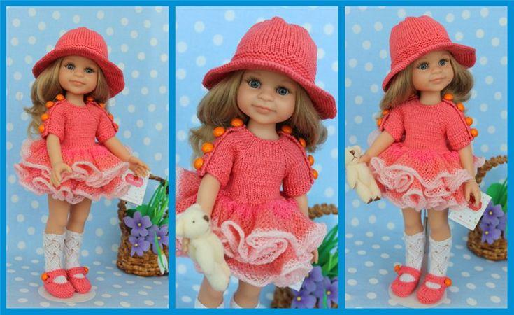 Одежда ручной работы для кукол Paola Reina.Добавлены новые работы. / Одежда для кукол / Шопик. Продать купить куклу / Бэйбики. Куклы фото. Одежда для кукол