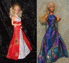 """Schnittmuster """"Sommerparty-Kleider"""" für Barbie"""