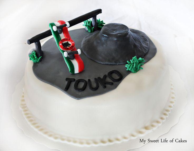 Skate board cake