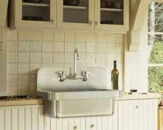 Farmhouse Sink With Backsplash : FARMHOUSE SINK WITH BACKSPLASH Kitchen Pinterest