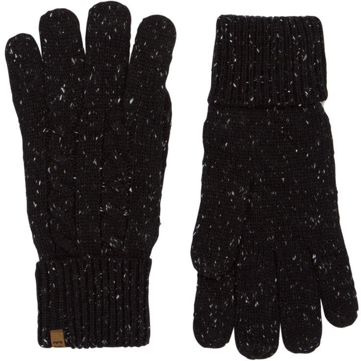 Приятный дизайн с вязанным узором и декоративными отворотами способен очаровать с первого взгляда, ведь в этих перчатках заключен настоящий бруклинский стиль теплых и уютных вязанных вещей.