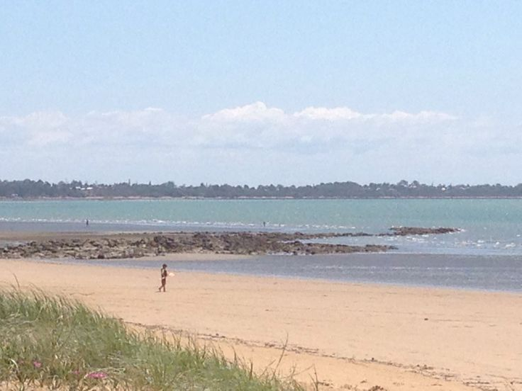 Hervy Bay, whale watching capital of Queensland. Tho when we were there the whales were apparently stuck in traffic lol