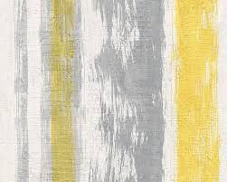 Image result for grey and yellow kitchen wallpaper