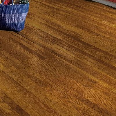 """Bruce Flooring Dundee 2-1/4"""" Solid White Oak Hardwood Flooring in Fawn"""