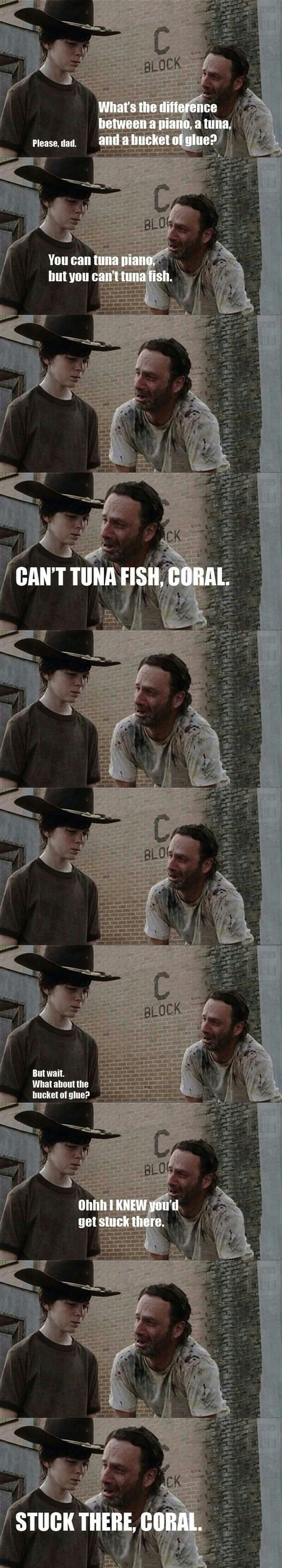 35 Of The Greatest Walking Dad Jokes From Rick Grimes