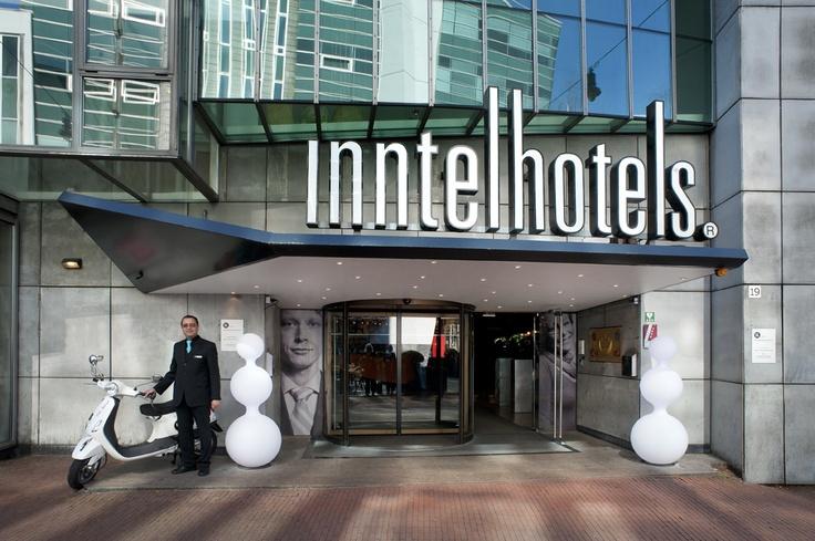 Entrance of Inntel Hotels Amsterdam Centre