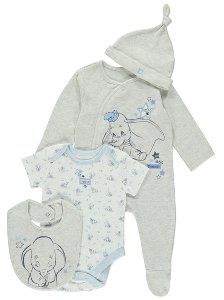 4 Piece Disney Dumbo Starter Set, read reviews and buy online at George at ASDA. Shop from our latest range in Baby. We have created this sweet starter kit t...