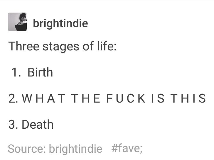 23 Really Funny Tumblr Posts That Are Just About, Like, Life