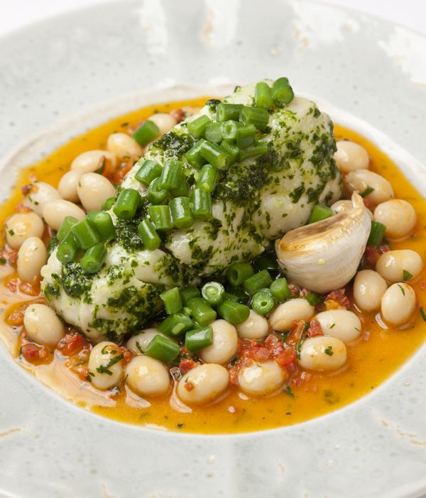 This cod with white beans recipe from Adam Bennett produces a rousing ...
