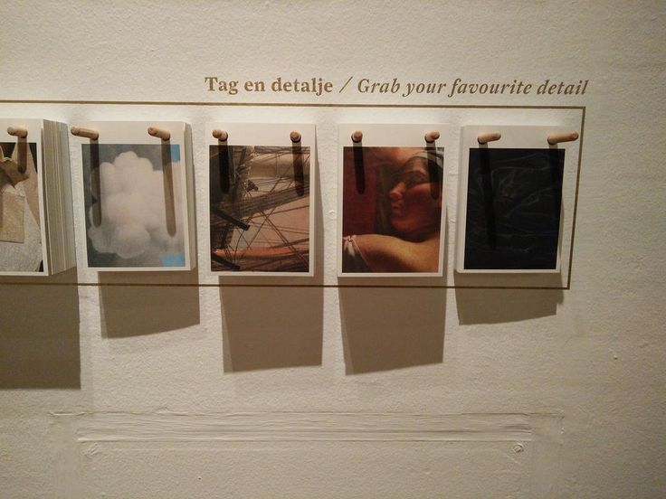 """Snup en yndlingsdetalje med hjem som postkort! Set på udstillingen """"Tæt på – Intimiteter i kunsten"""" kurateret af Mikkel Bogh, Statens Museum for Kunst."""