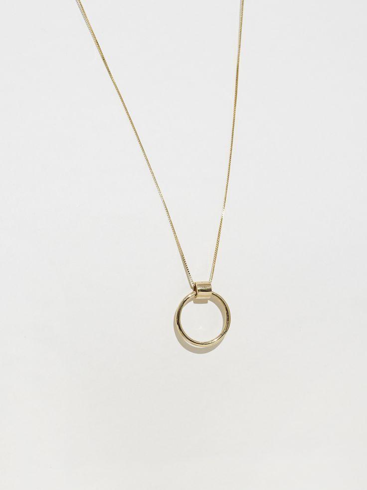 Venn Long Necklace by J. Hannah