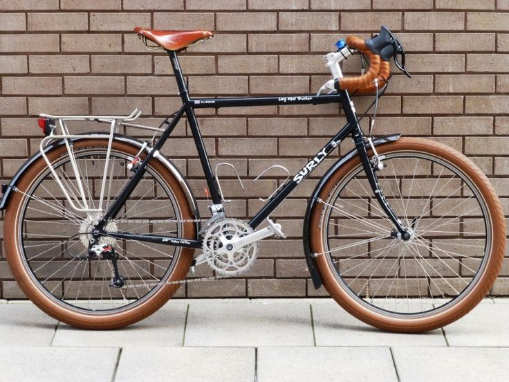 Classic treatment of a Surly Long Haul Trucker