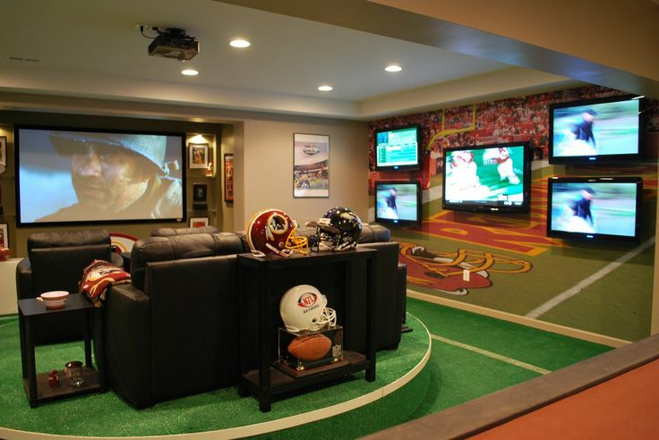 Man Cave Espn : Best images about dream man caves on pinterest