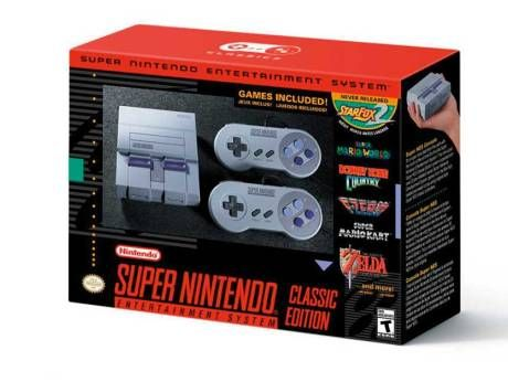 Nintendo's latest blast from the past: SNES classic console Hit console that debuted in 1990, as a smaller device with 21 pre-installed classic games and two controllers