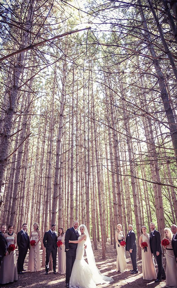 Forests of Kortright - Vaughan, Ontario | Stunning vintage wedding photography by www.newvintagemedia.ca