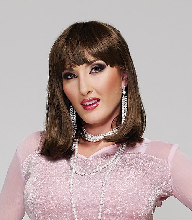 Sleek A Line Wig Design With Bangs Suddenly Bangs And A