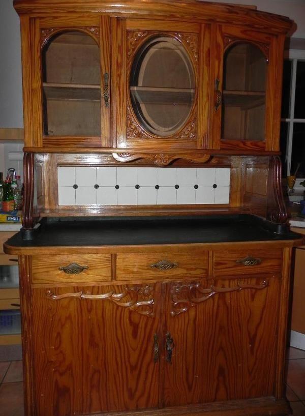 Antikes Küchenbuffet um » Sonstige Möbel antiquarisch aus Windach
