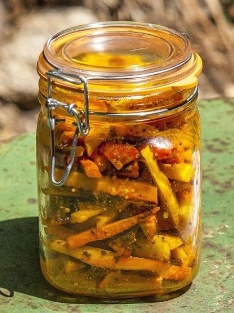 How To Make Indian Pickled Carrots Recipe Pickling