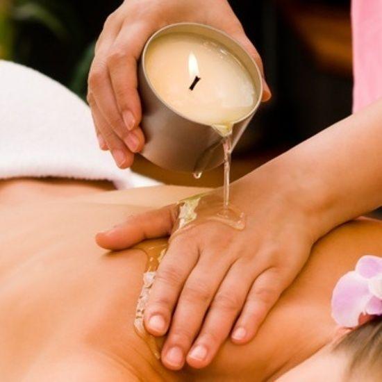 candle wax massage - Google Search