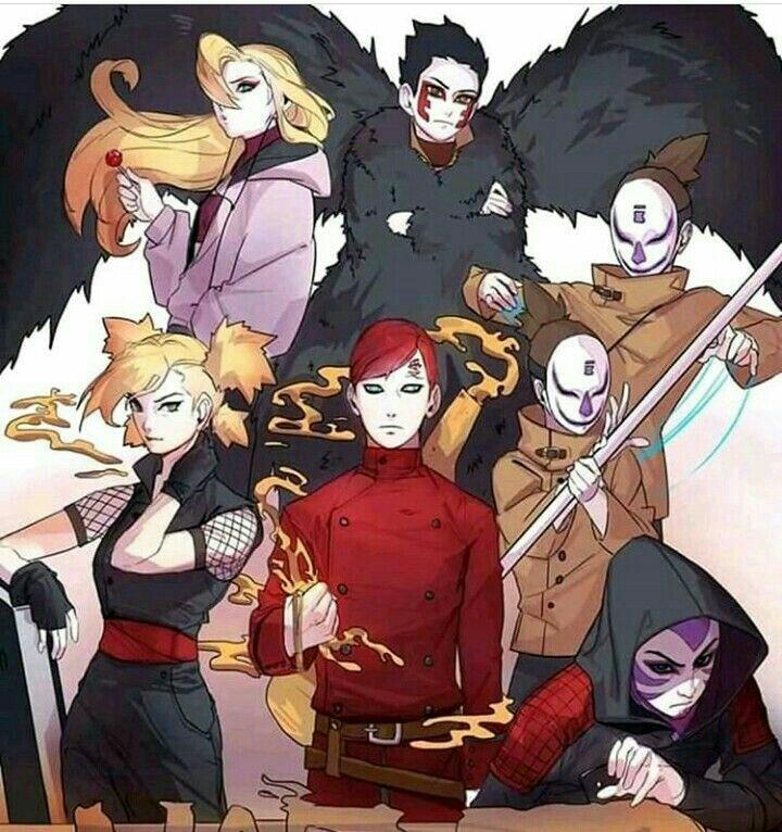 Imagenes GaaLee Naruto anime, Personajes de naruto y