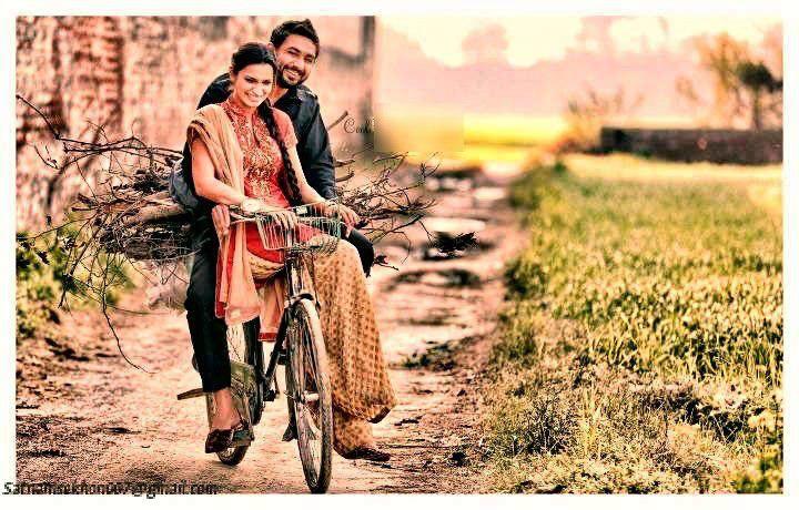 Punjabi couple on a bike, 2013-11-17.