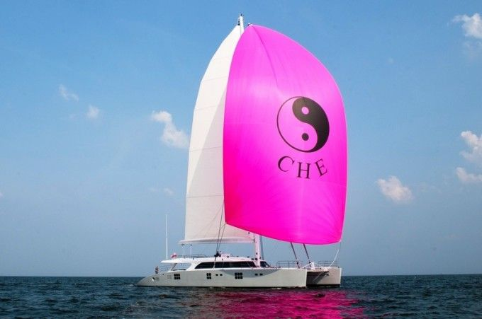 Sunreef Catamaran 114 CHE is available for luxury yacht charters in the Caribbean during the Winter months. Cat CHE has a qualified, professional and friendly crew of 4-5 onboard as well as a large selection of water sport toys ready to enjoy.