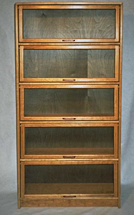 Barrister 39 s bookcase plan woodworking projects plans for Stacking bookcase plans