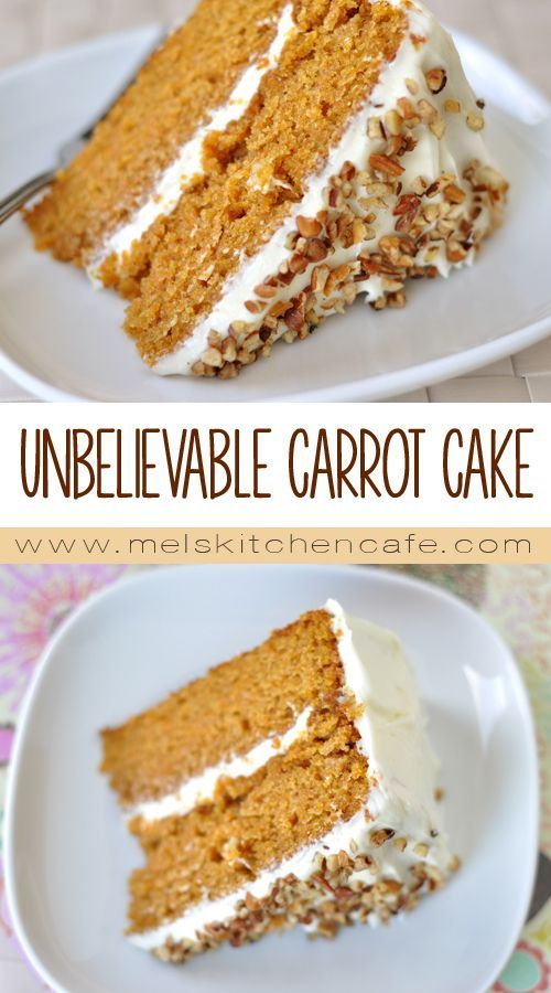 I haven't met a carrot cake I love more than this one. Moist, flavorful and just absolutely classic and fantastic, this carrot cake graces our Easter dinner table every year.