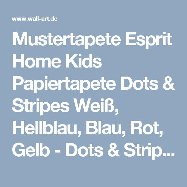 Ber ideen zu rot kinderzimmer auf pinterest for Mustertapete blau