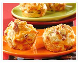 Ham and Cheese Muffins, yum!