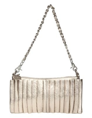 It is said that accessories maketh the outfit! This gold Vikson clutch bag, with rouche detailing, will add the perfect finishing touch to your outfit. The 25.5 cm bag is big enough to hold all your essentials, yet slim enough to still look dainty. Pair this up with a cocktail dress or with a dressed up denim.