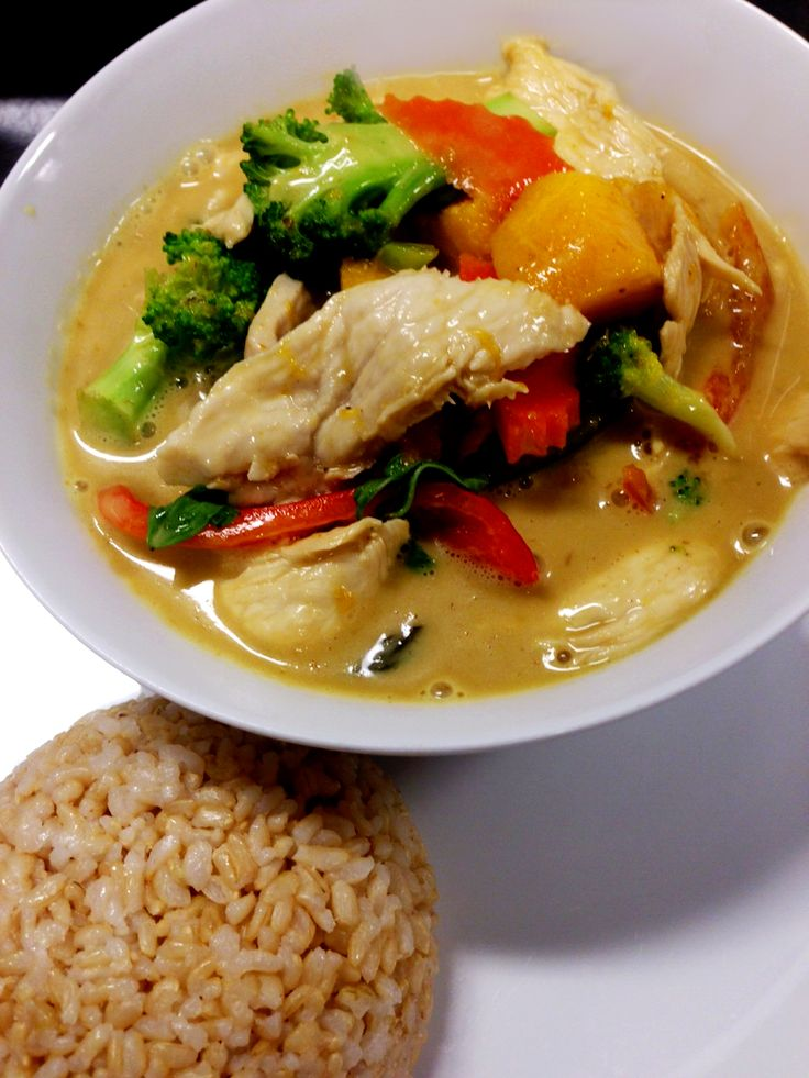 Mango Curry with Chicken - from Thai Udon Cafe, Naples, Florida