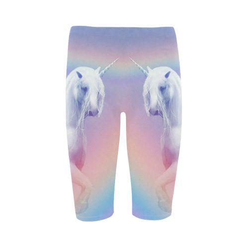 Unicorn and Rainbow Cropped Leggings. FREE Shipping. FREE Returns. #leggings #unicorn