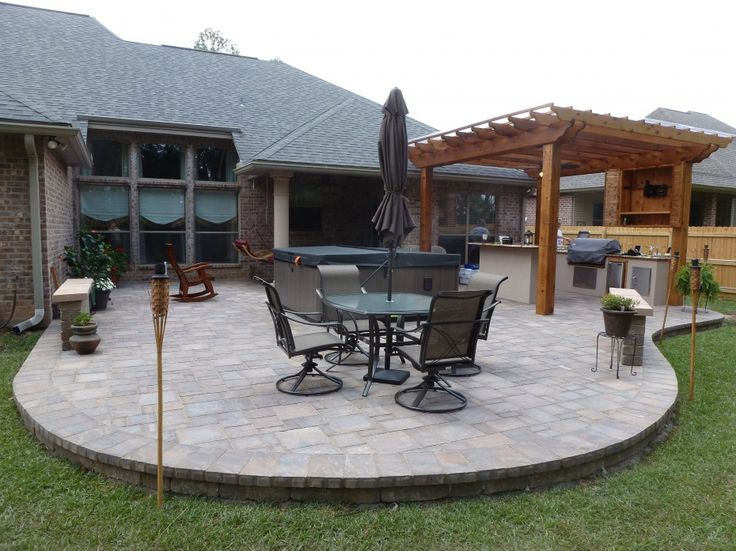 round patio ideas modern style round patio with circular patio paver kits home depot patios home - Patio Block Ideas