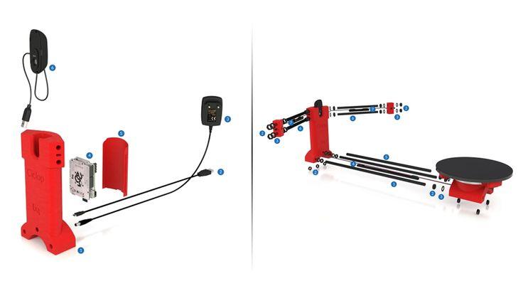HE3D Ciclop  3D Scanner Kit|3D Printers Bay