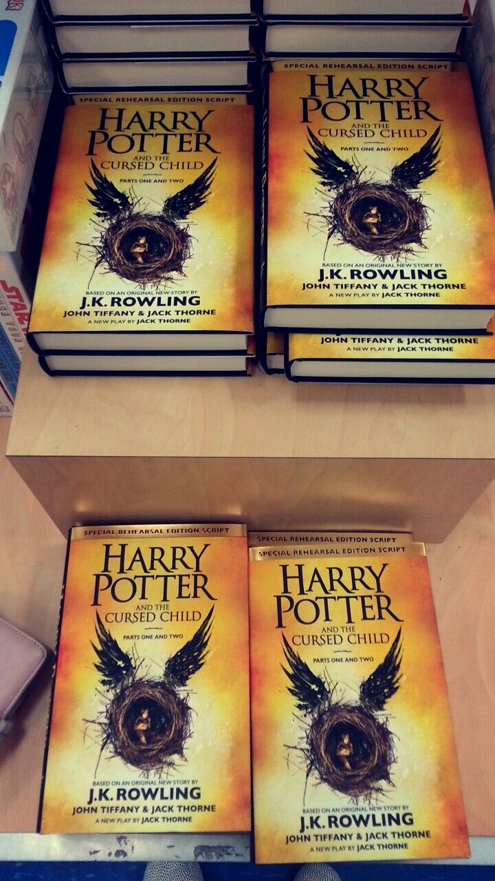 Harry Potter and The Cursed Child Books.