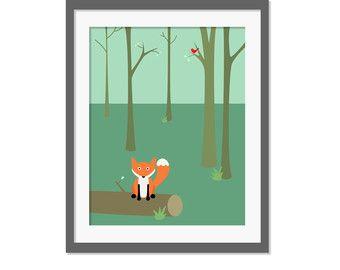 In the Wood | Dans la Forêt sélectionné par Joli Place sur Etsy