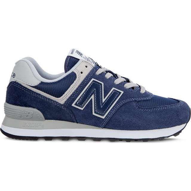Sportowe Damskie Newbalance New Balance Granatowe Wl574en Navy With White New Balance Casual Running Shoes New Balance Classics