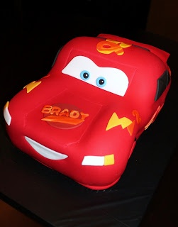 Creative Cakes by Lynn - Cars Lightning McQueen cake