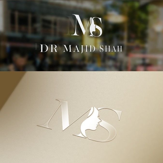 Design an alluring logo for the Dr Majid Shah facial aesthetics clinic by BeeX