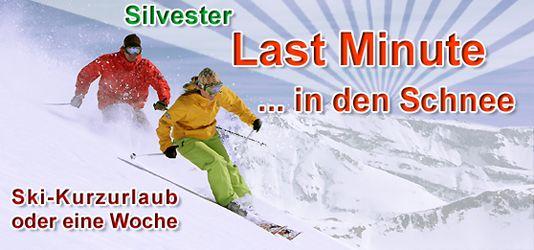 Skiing, Skis Last Minute an Silvester in den Skiurlaub