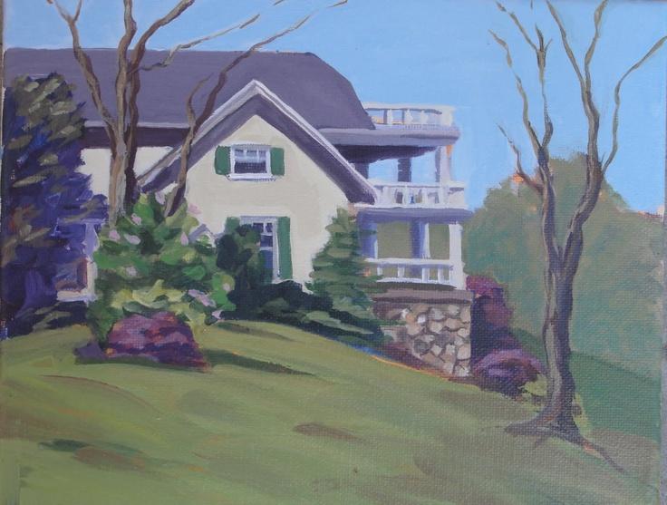 Wadsworth home,   near Geneseo NY