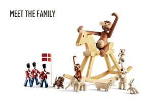 Kay Bojesen, I would love to have wooden toys for my someday kids. I love these wooden figures and they would last forever and could later be used in decorating (near my jacks)