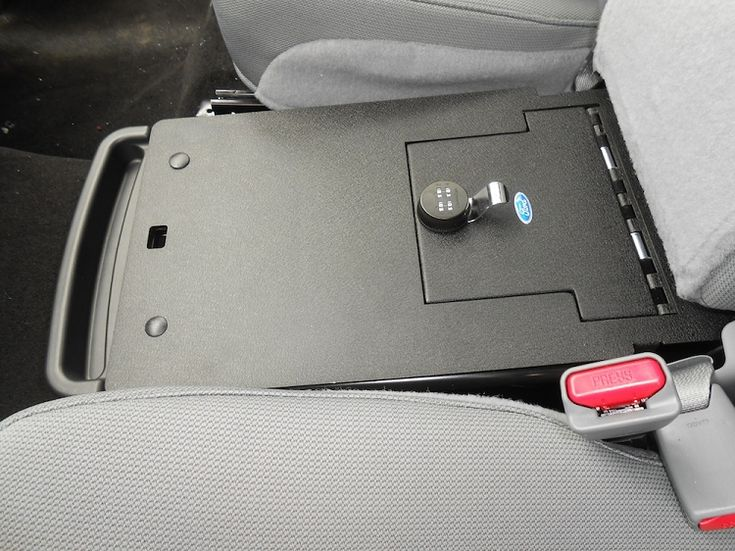 Console Vault For The Under Center Seat Storage In The F